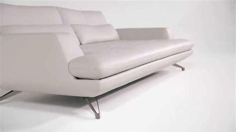 canapé cuir blanc roche bobois grand canapé 3 places intermède en cuir design sacha