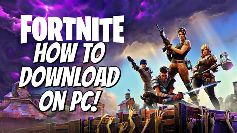 how to install fortnite on your compter pc and mac