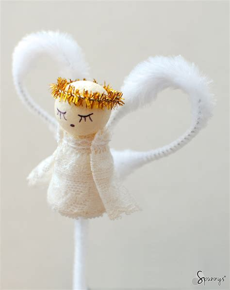vintage angel ornaments  simple diy tutorials spunnys