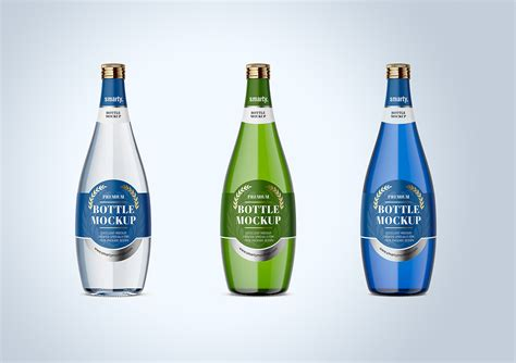 Bottle mockups make the process of presenting and packaging your designs in high quality photorealistic manner possible. Free Glass Bottle Mockup | Free Mockup
