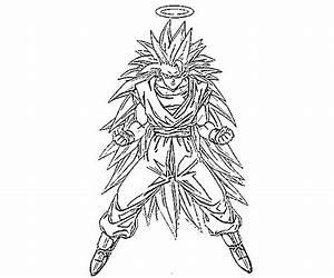 Dragon Ball Z para colorear goku fase 1 - Imagui