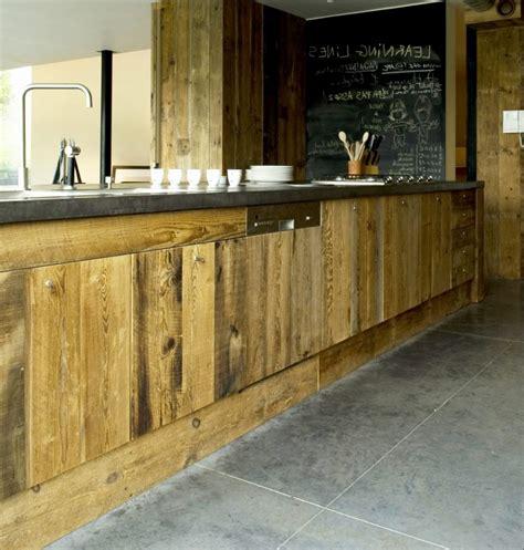 cuisine en bois brut meuble cuisine bois brut fresh uncategorized petit facade