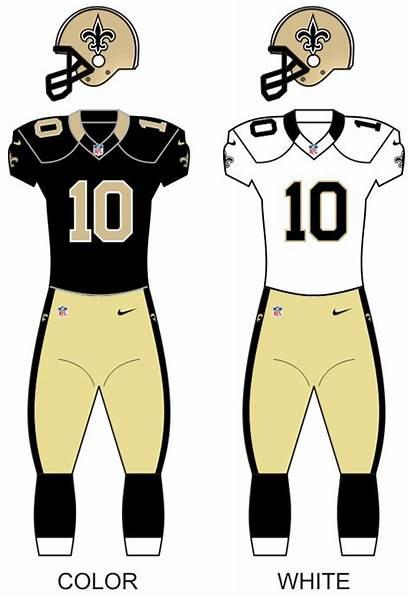 Saints Orleans Wikipedia Season Uniform History Division