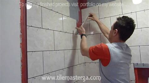part  shower wall tile installation diy