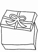 Coloring Present Gift Boxes Open Opening Template Button Through Templates Otherwise Grab Easy sketch template
