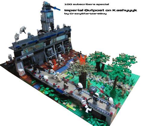lego star wars moc imperial outpost  kashyyyk