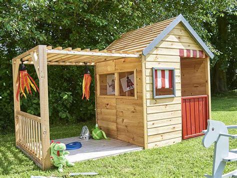 Une Cabane En Bois Pour Enfant à Prix Doux  Joli Place