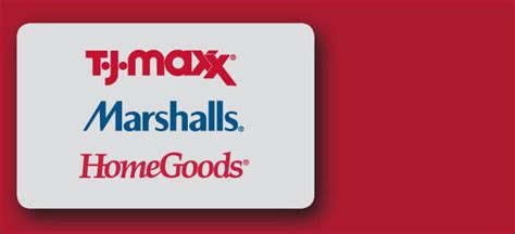 To load your tj maxx gift card when you visit tjmaxx.com, you'll need to create an account. Does Home Goods Accept Marshalls Gift Cards | All About Home