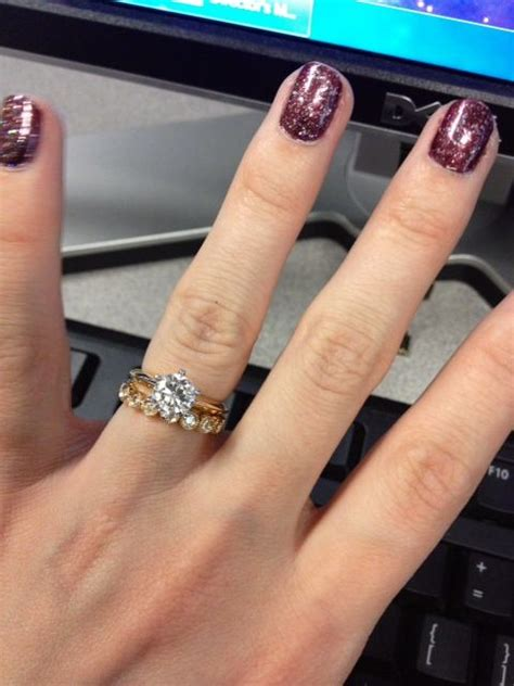 i really like the solitaire with a bezel wedding