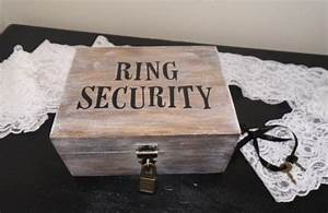 ring security ring bearer wedding ring box ring bearer With ring security box for wedding