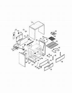 Sunbeam Model Sns3emlca Free Standing  Electric Genuine Parts