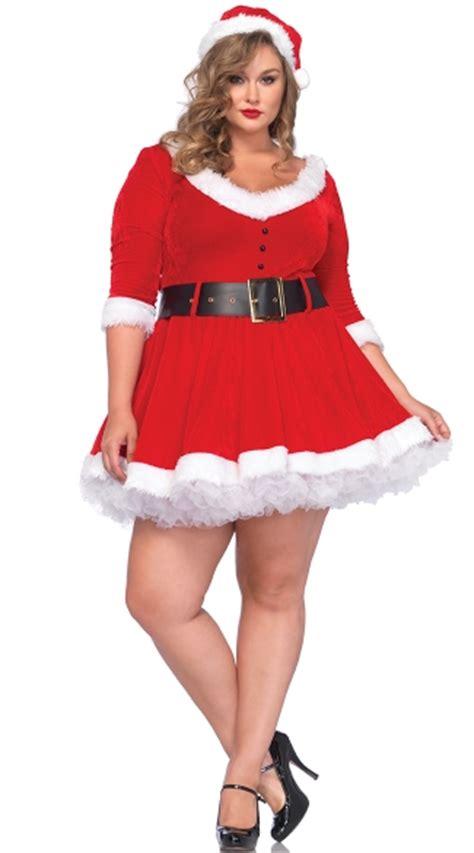 plus size miss santa costume plus size santa costume
