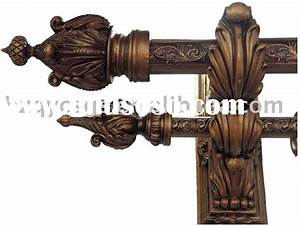 modern curtain poles expert how to curtain pole guides With double curtain rod wood