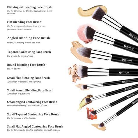 makeup brushes and their uses with saubhaya makeup
