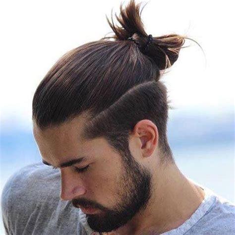 mens top knot hairstyles  hairstyles  men long