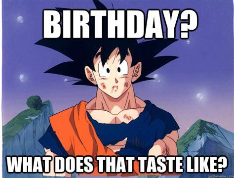 Dragon Ball Z Birthday Meme - 24 nostalgic dragon ball z meme sayingimages com