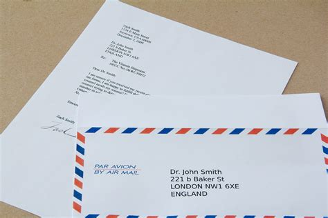 How To Mail An International Letter