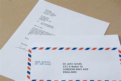 Letter Mail International Robert Ray