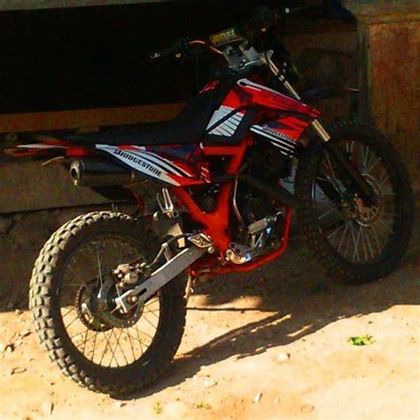 Harga Modifikasi Motor Trail by Modifikasi Satria Fu Jadi Tril 28 Images Karetbundar88