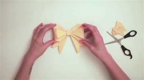 tuto origami facile quot le nœud quot youtube