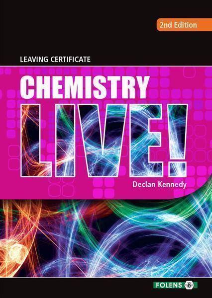 leaving cert chemistry books  irelands  school