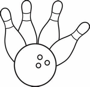 Black And White Bowling Ball - ClipArt Best