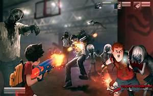 Jason Chan Art: Zombie Playground the Game!  Zombie