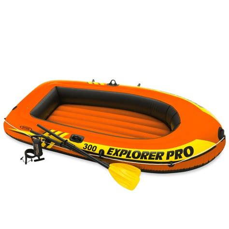 Inflatable Boat Dinghy Reviews by Intex Explorer Pro 300 Inflatable Boat Inflatable