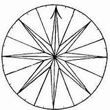 Drawing Sundial Compass Rose Fancy Clipart Cliparts Getdrawings Clip Library sketch template