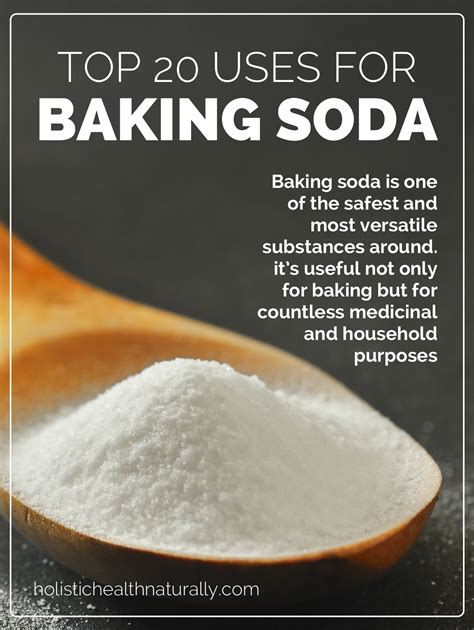 what is baking soda top 20 uses for baking soda