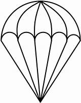 Parachute Drawing Coloring Clipart Template Sketch Glass Pages Stained Parachutes Outline Cliparts Patterns Paratrooper Drawn Clip Darryl Drawings Easy Templates sketch template