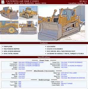 cat d6r 1999 crawler dozer caterpillar dozers for