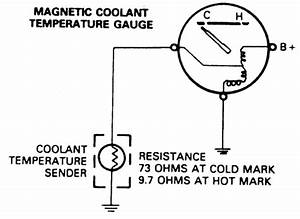 Wiring Diagram Water Temperature Gauge