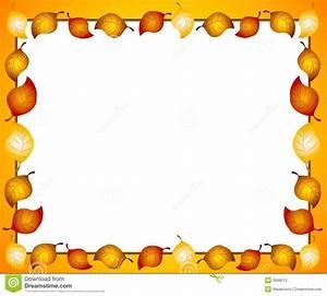 Autumn Leaves Border Or Frame Stock Photos - Image: 3068013