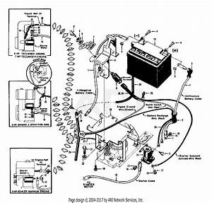 Troy Bilt 10056 Horse Iii  S  N 640000-855638  Parts Diagram For Electric Start System