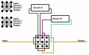 A Useful Way To Wire A 3pdt Switch  Circuit Block Order