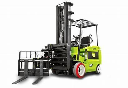 Turret Truck Clark Aisle Narrow Forklifts Lift