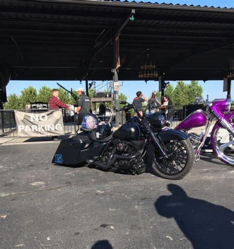 Harley Davidson Road King Lay Frame Custom Air Ride