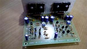 200 Watt Mono Subwoofer Amp Kit  Assembled