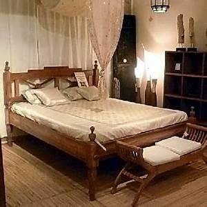 Kolonial Bett 160x200 : bett kolonial 140 r ckenteil halboffen ~ Michelbontemps.com Haus und Dekorationen