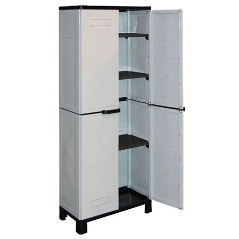 armoire en plastique pour exterieur meuble exterieur en plastique