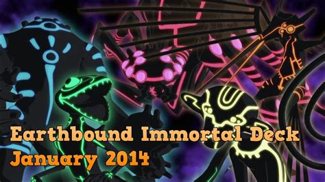 yugioh earthbound immortal deck january 2014 youtube