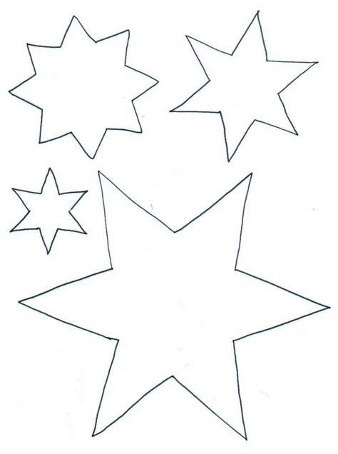 vorlagen sterne malvorlage sterne