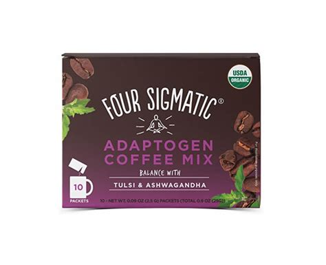 Adaptogens because they're believed to help our bodies adapt i love the sun potion cordyceps powder for every day and the brilliant packets from four sigmatic for travel; Four Sigmatic Coffee + Tulsi & Ashwagandha adaptogen mix   Prozdravi.cz - Přírodní cestou ke zdraví