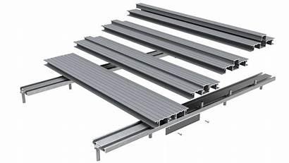 Decking Deck Aluminium Ali Channel Board Bolt