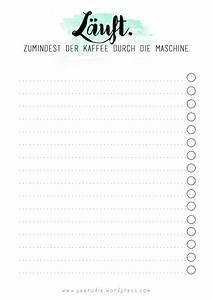 To Do Liste Zum Ausdrucken Kostenlos : printable pearodie ~ Yasmunasinghe.com Haus und Dekorationen