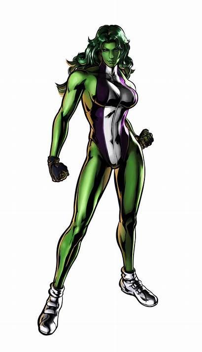 Hulk She Transformation Deviantart Marvel Capcom Vs
