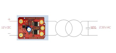 inverter ad onda sinusoidale open source con scheda infineon arduino motor shield elettronica