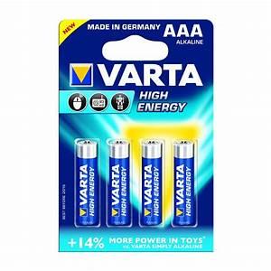 Batterie 1 5 Volt : varta high energy aaa triple a alkaline 1 5 volt 1 5v ~ Jslefanu.com Haus und Dekorationen