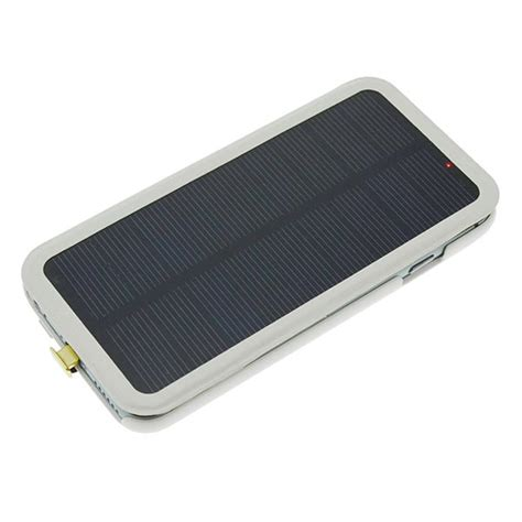 iphone 6 solar charger 2800mah external backup battery solar charger for